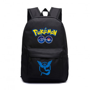 Pokemon Go Team Mystic Blue Black Backpack
