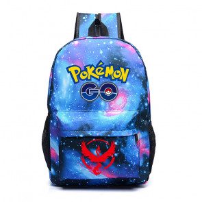 Pokemon Go Blue Team Mystic - Galaxy Backpack