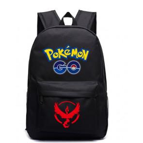 Pokemon Go Team Valor Red Black Backpack