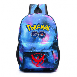 Pokemon Go Team Valor Red - Galaxy Backpack