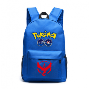 Pokemon Go Team Valor Red - Blue Backpack