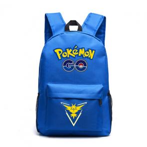Pokemon Go Team Instinct Yellow - Blue Backpack