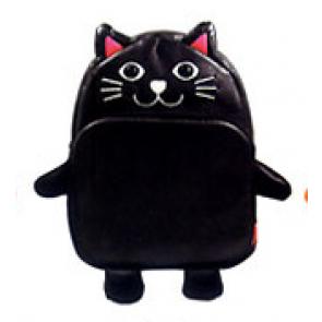 Kids Preschool Kindergarten Cute Backpack Rucksack Black Cat