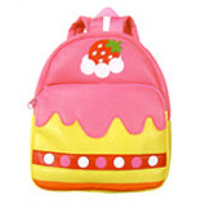 Kids Preschool Kindergarten Cute Backpack Rucksack Pink Cake