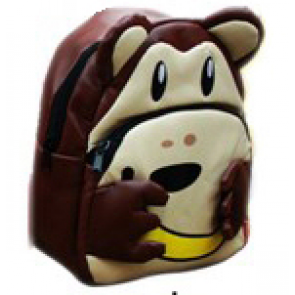 Kids Preschool Kindergarten Cute Backpack Rucksack Monkey