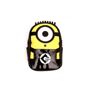 PU Leather Minion Backpack Rucksack