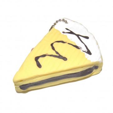 Scented Squishy Keychain Cheese